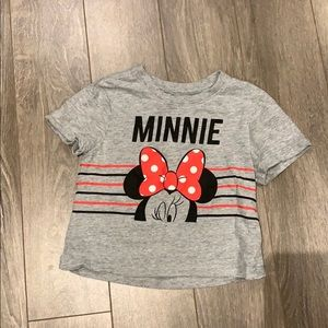 🎉 4 for $25 🎉 Minnie Mouse Cropped Tee